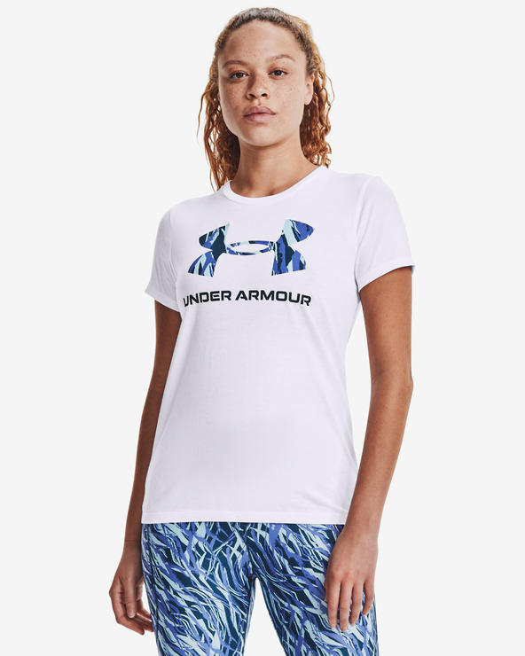 Under Armour Live Sportstyle Graphic Tricou Alb