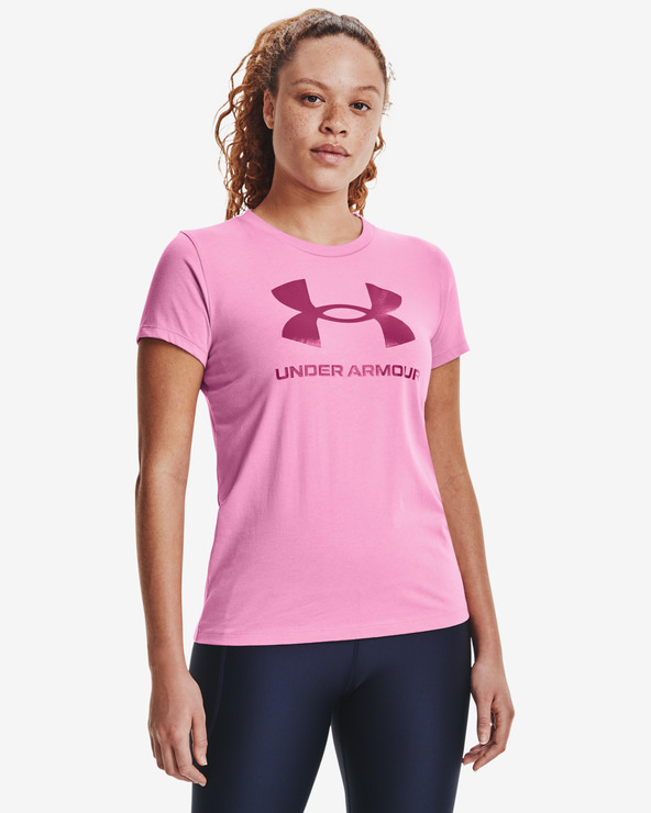 Under Armour Live Sportstyle Graphic Tricou Roz