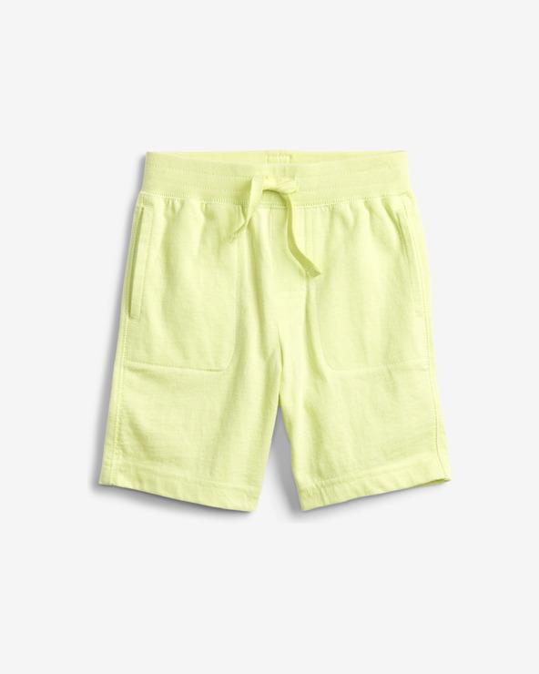GAP Organic Mix and Match Pull-On Pantaloni scurţi pentru copii Galben