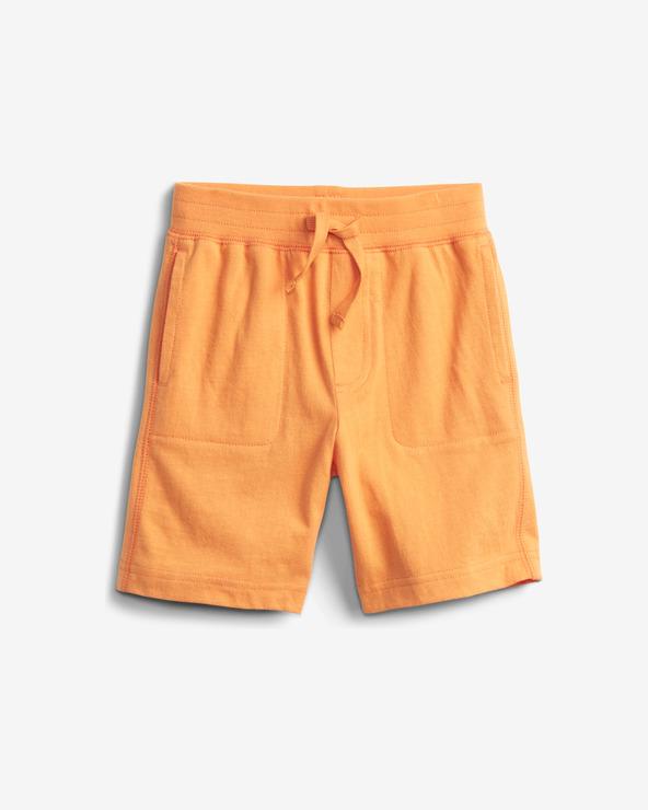 GAP Organic Mix and Match Pull-On Pantaloni scurţi pentru copii Portocaliu