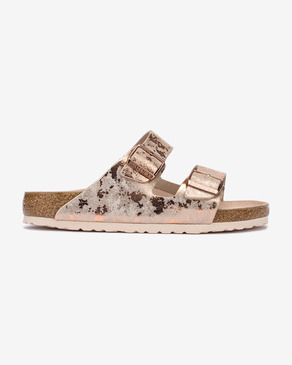 Birkenstock Arizona Vintage Metallic Rose Pantofle