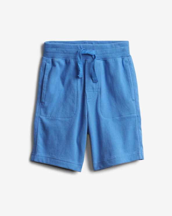 GAP Organic Mix and Match Pull-On Pantaloni scurţi pentru copii Albastru