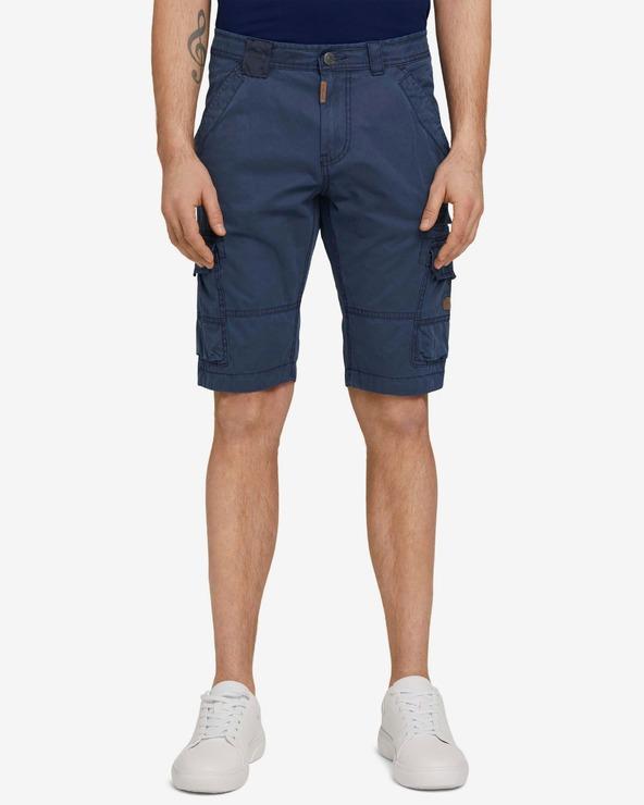 Tom Tailor Cargo Pantaloni scurți Albastru
