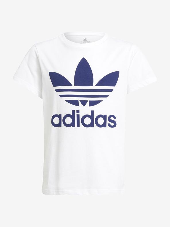 adidas Originals Trefoil Tricou pentru copii Alb