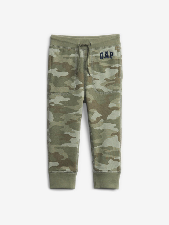 GAP Logo Pantaloni de trening pentru copii Verde