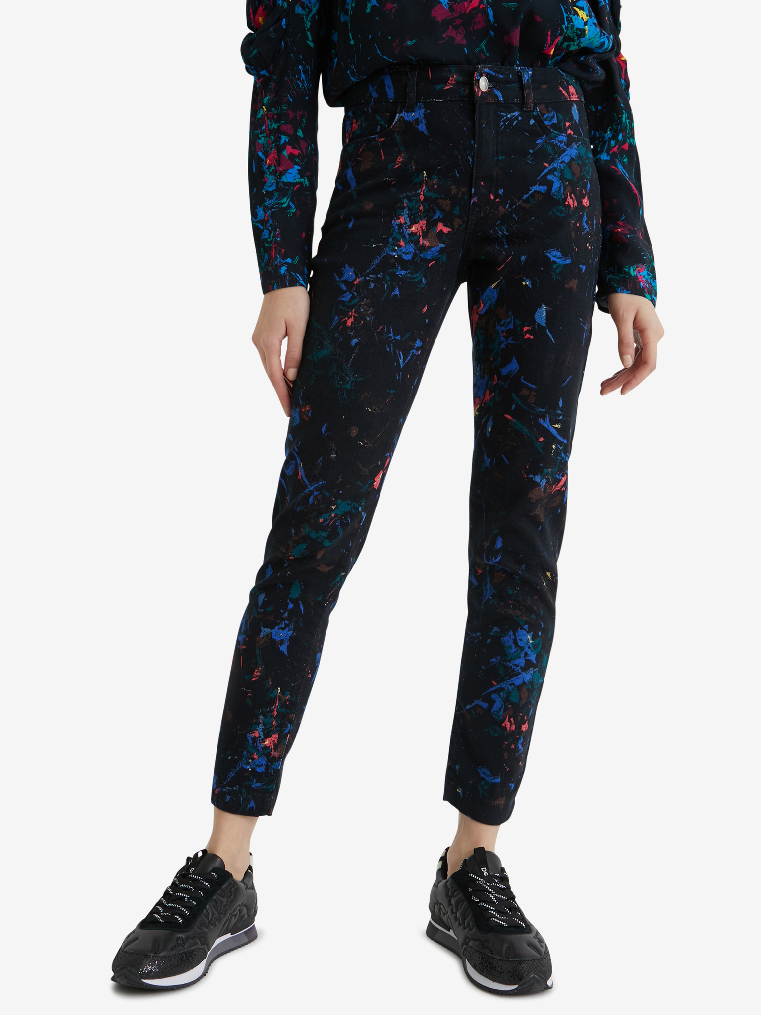 Splatter Kalhoty Desigual