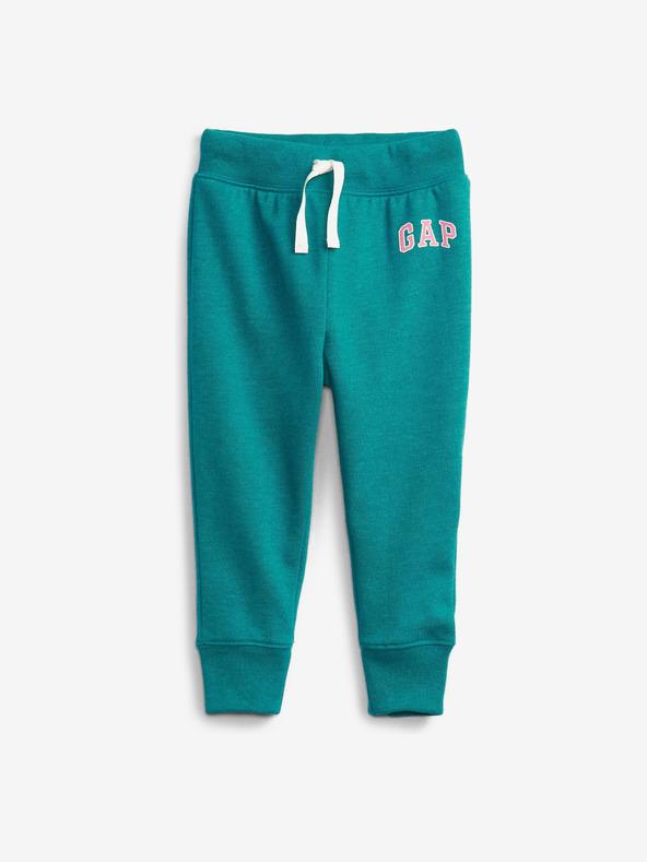 GAP Logo Pantaloni de trening pentru copii Albastru