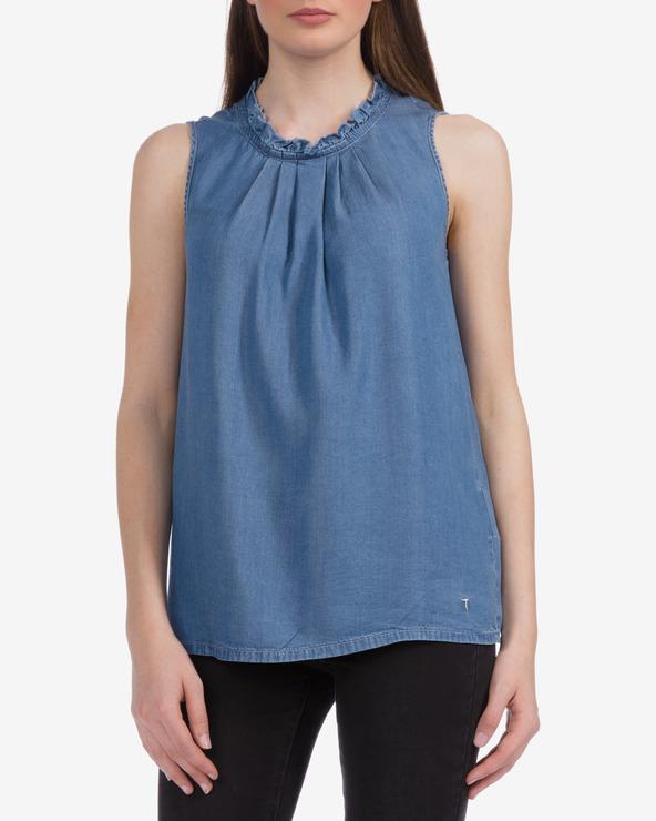 Trussardi Jeans Top Blau