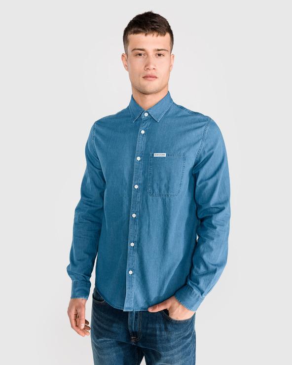 Calvin Klein Hemd Blau