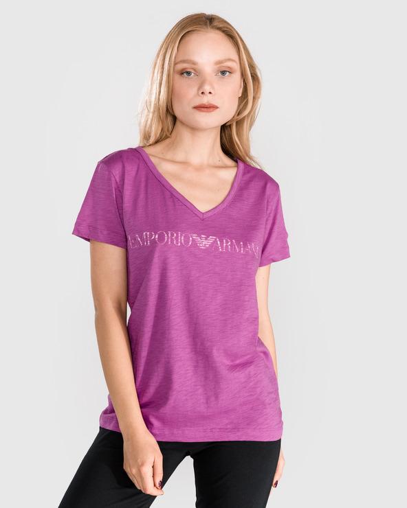 Emporio Armani Sleeping T-shirt Rosa Lila