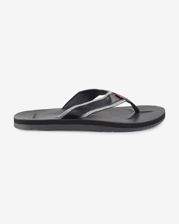 Levi's® Flip-Flops Schwarz