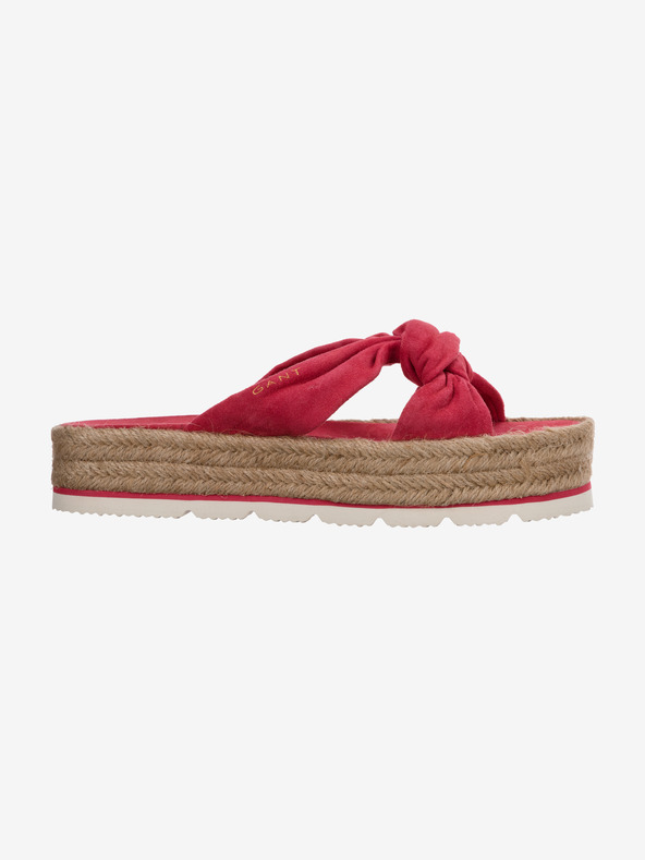 Gant Cape Coral Pantoffeln Rot Rosa