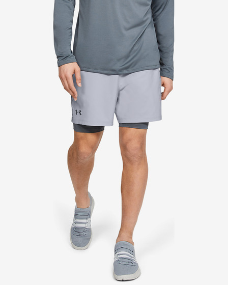 Under Armour Qualifier 2-in-1 Kraťasy