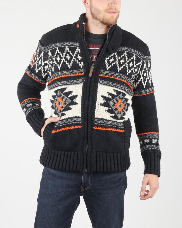 SuperDry Pullover Blau