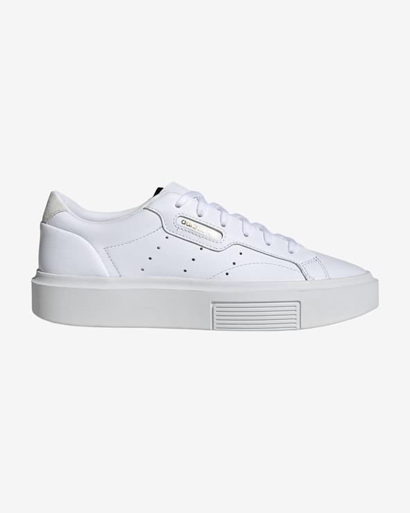 adidas Originals Sleek Super Tennisschuhe Weiß