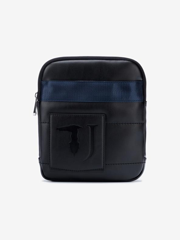 Trussardi Jeans Tici Medium Umhängetasche Schwarz Blau