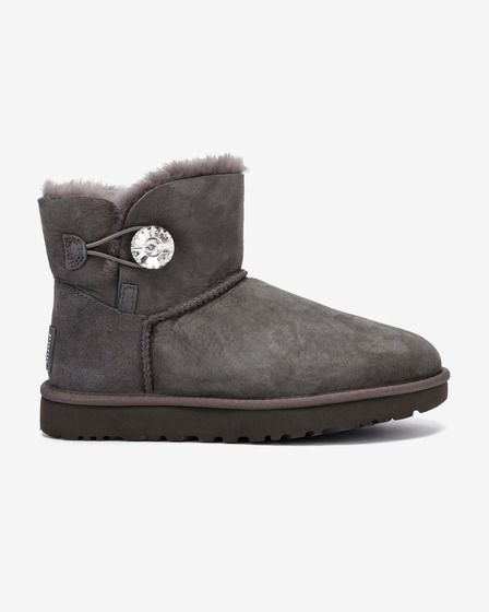 UGG Mini Bailey Button Bling Sněhule