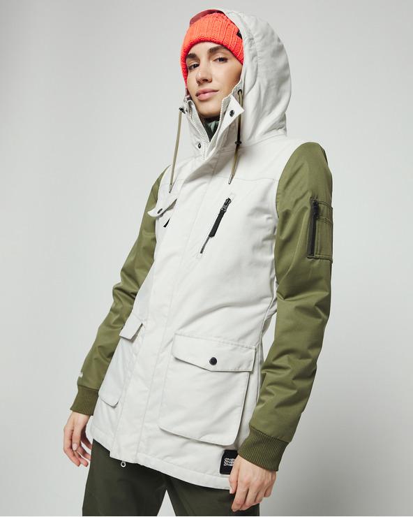O'Neill Cylonite Jacke Grün Weiß