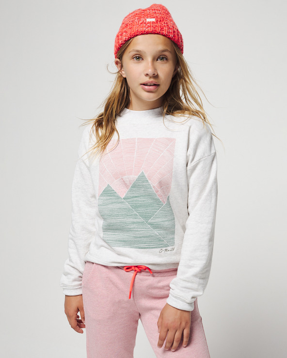 O'Neill Ilana Sweatshirt Kinder Weiß