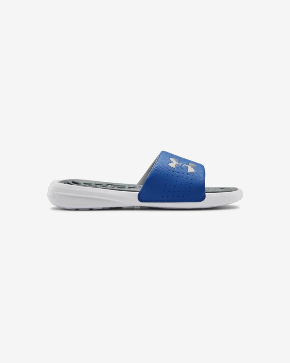 Under Armour Playmaker Kids slippers Blau Weiß