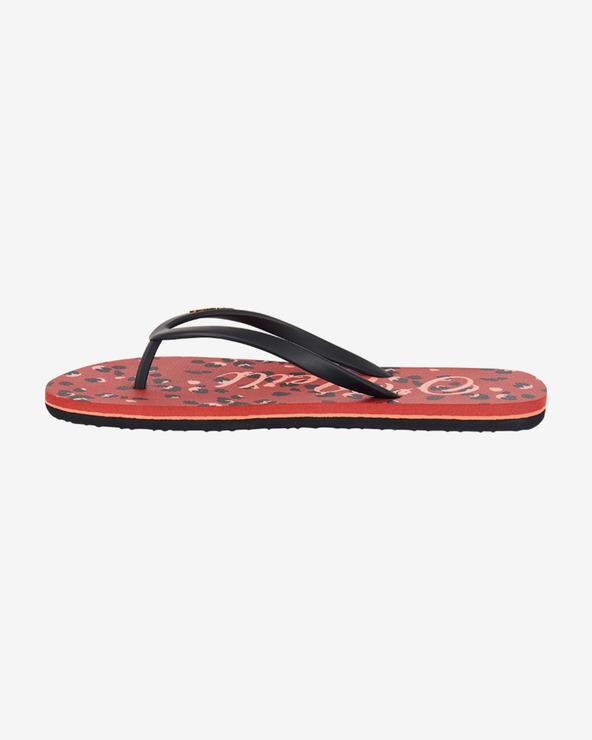 O'Neill Flip-Flops Schwarz Rot