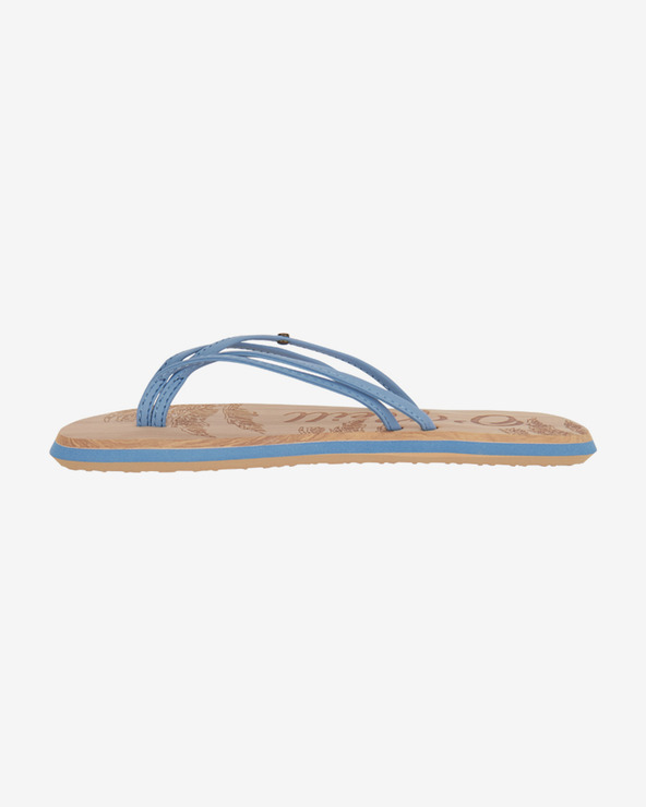 O'Neill Ditsy Flip-Flops Blau Braun