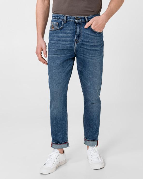 Trussardi Jeans Baggy Jeans Albastru