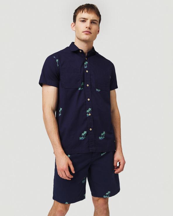 O'Neill Palm All Over Hemd Blau