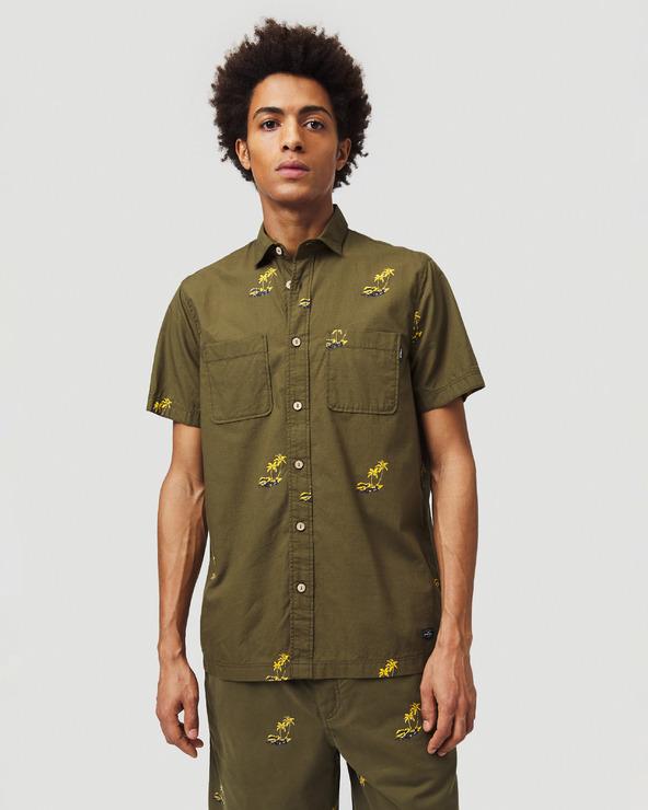 O'Neill Palm All Over Hemd Grün