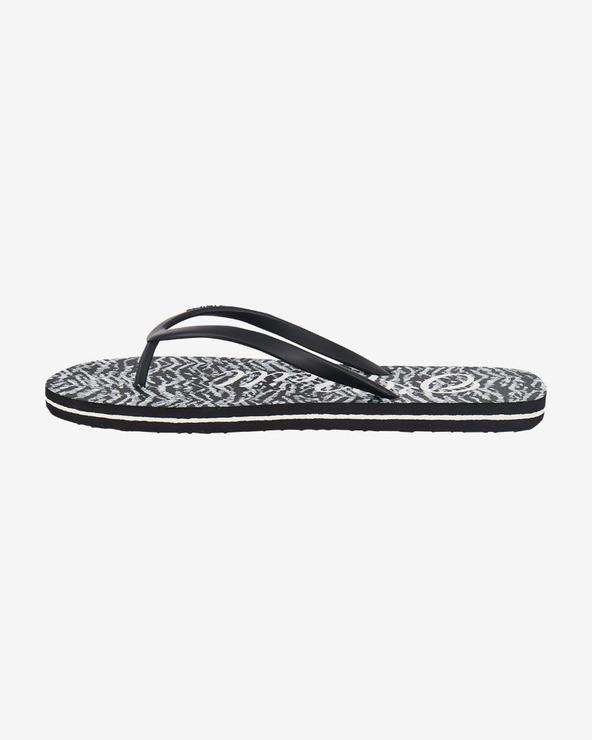 O'Neill Profile Flip-Flops Schwarz Weiß