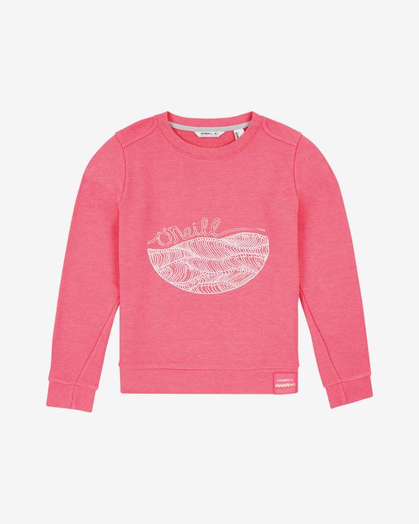 O'Neill Harper Sweatshirt Kinder Rosa