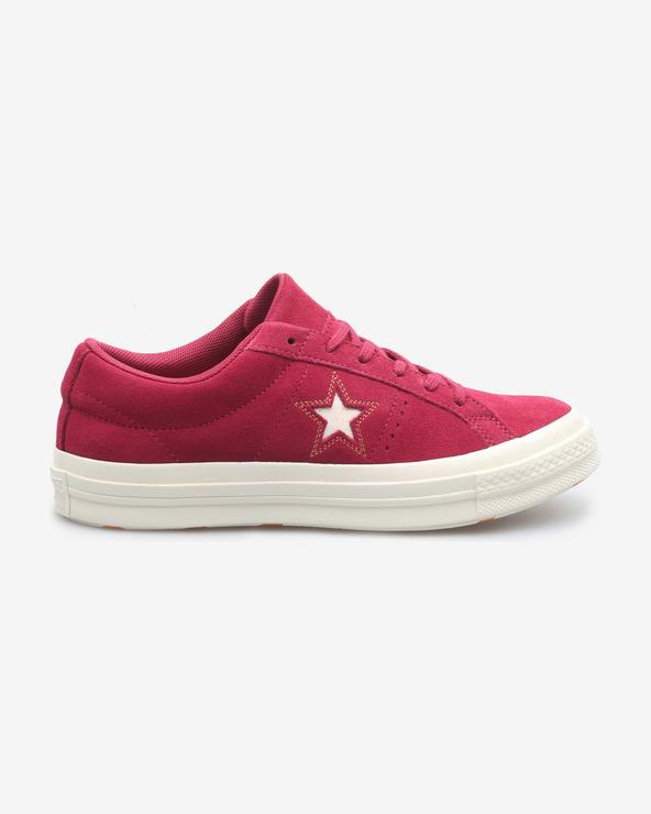 Converse One Star Tennisschuhe Rot