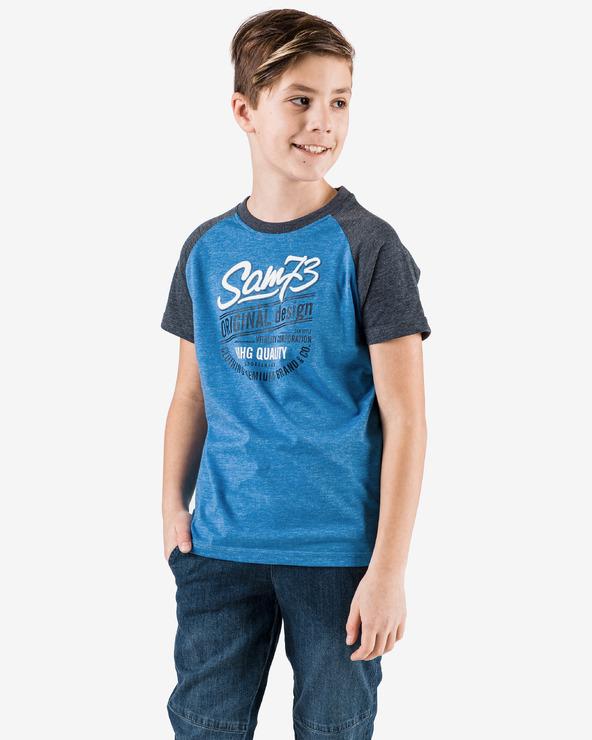 Sam 73 Tricou pentru copii Albastru