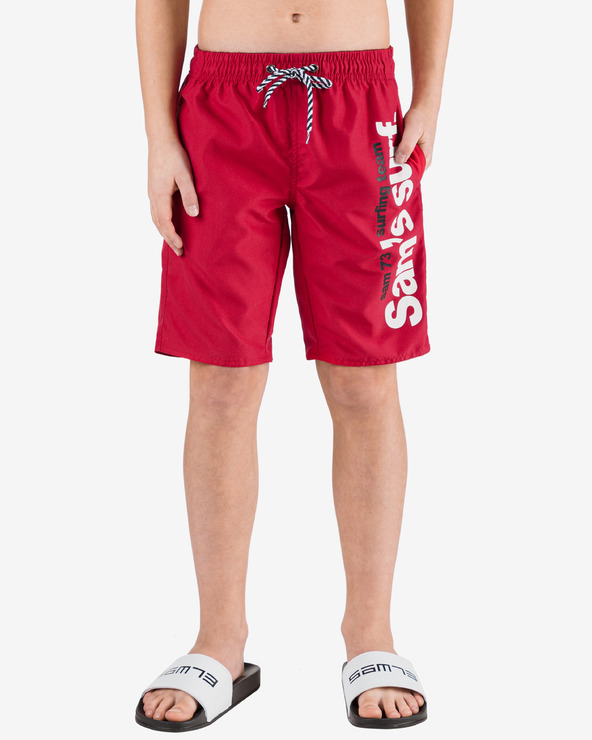 Sam 73 Costum de baie pentru copii Roșu