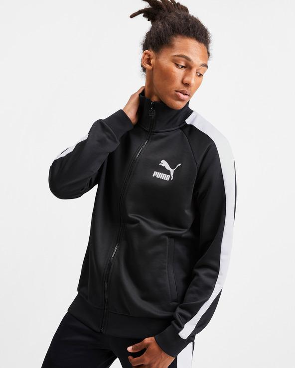 Puma Iconic T7 Sweatshirt Schwarz