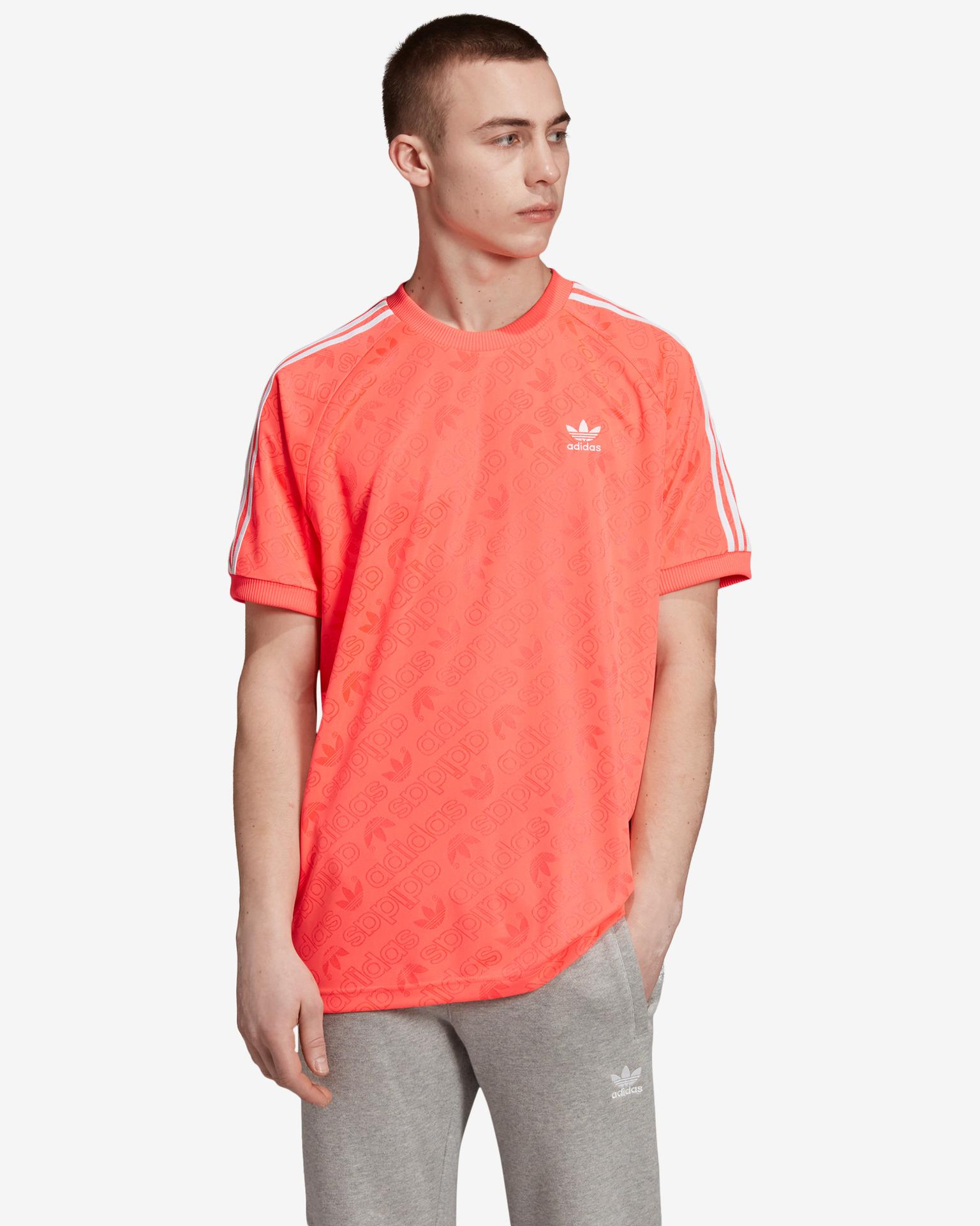 adidas Originals - Monogram T-shirt Bibloo.com