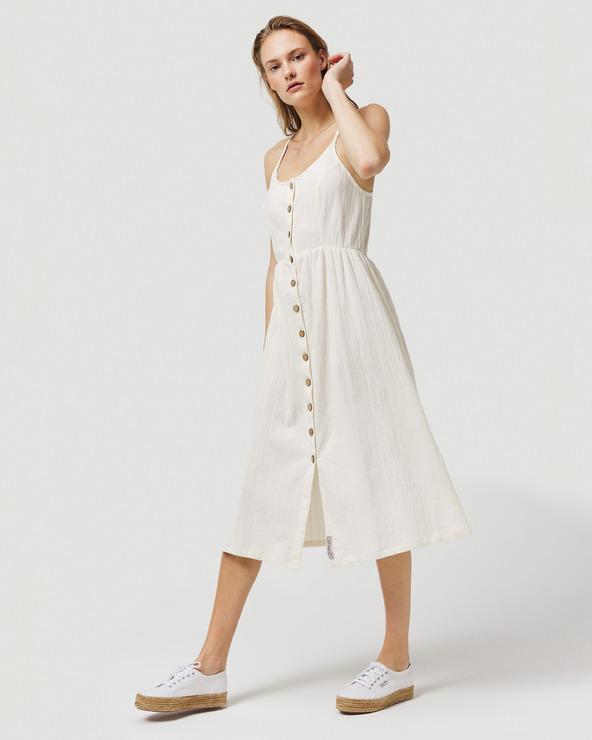 O'Neill Agata Kleid Weiß