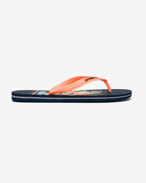 O'Neill Flip-Flops Blau Orange