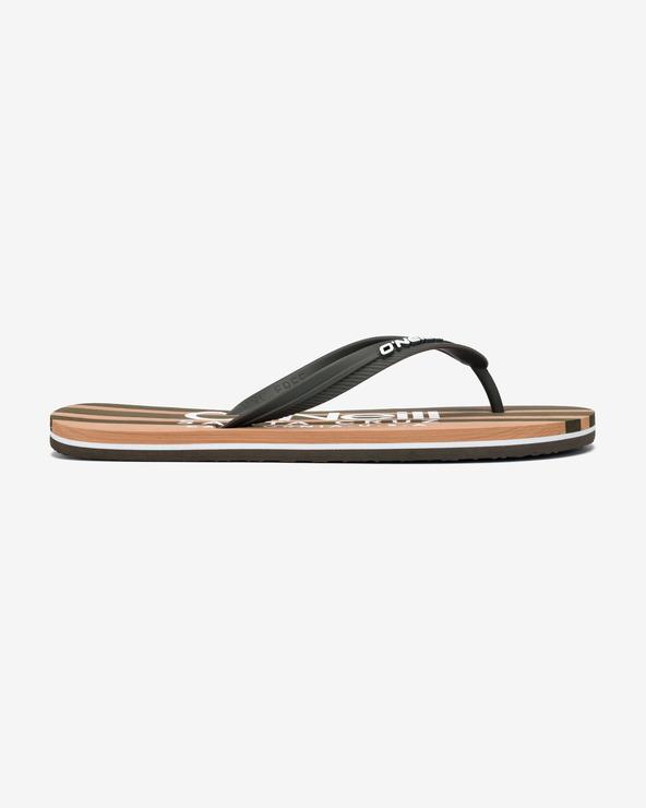 O'Neill Profile Cali Flip-Flops Grün Braun