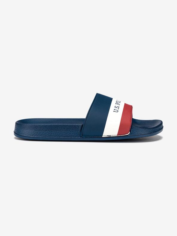U.S. Polo Assn Aquarius Pantoffeln Blau