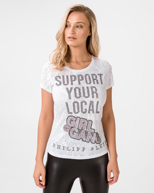 Philipp Plein Support T-Shirt Weiß