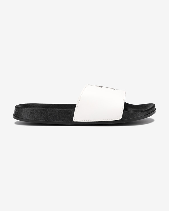 U.S. Polo Assn Aquarius Pantoffeln Schwarz Weiß