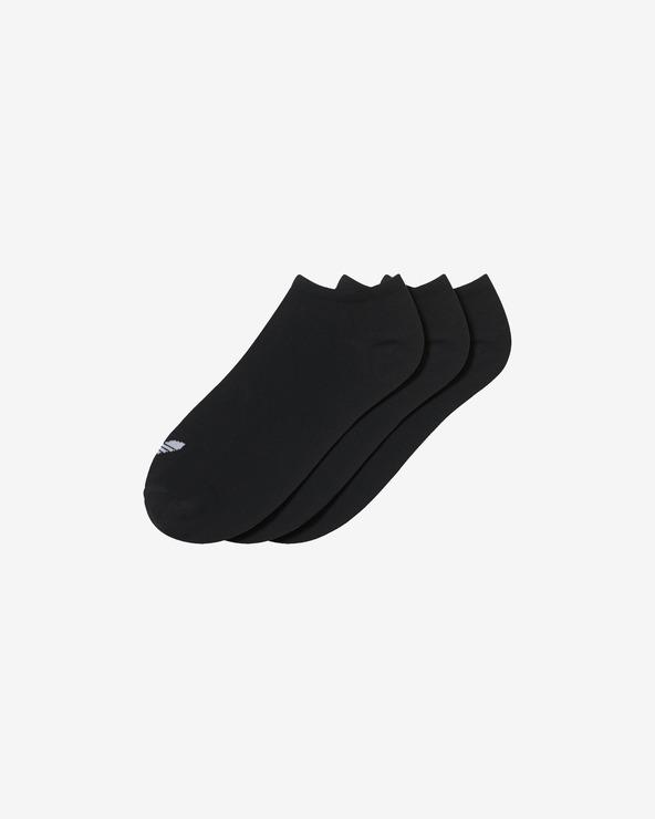 adidas Originals Trefoil 3 Paar Socken Schwarz