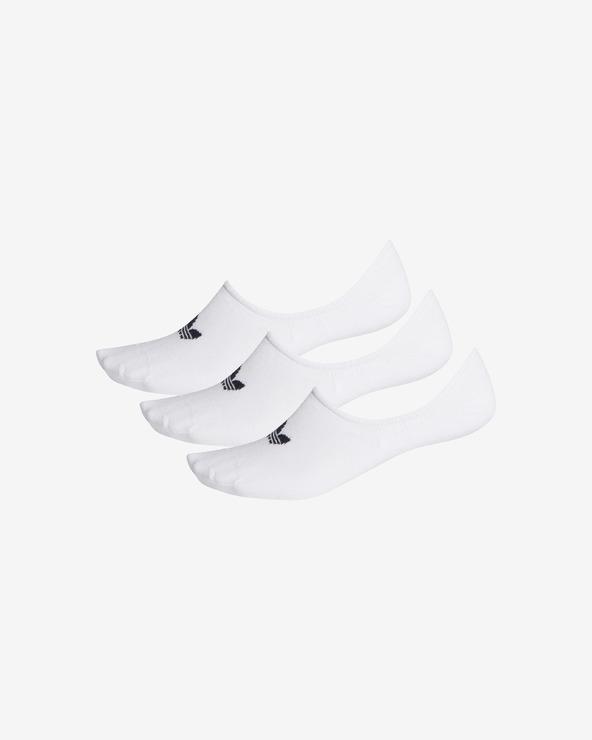 adidas Originals 3 Paar Socken Weiß