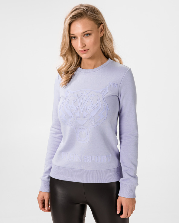 Philipp Plein Sport Tiger Sweatshirt Lila