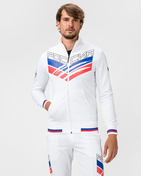 Philipp Plein Sport Statement Sweatshirt Weiß