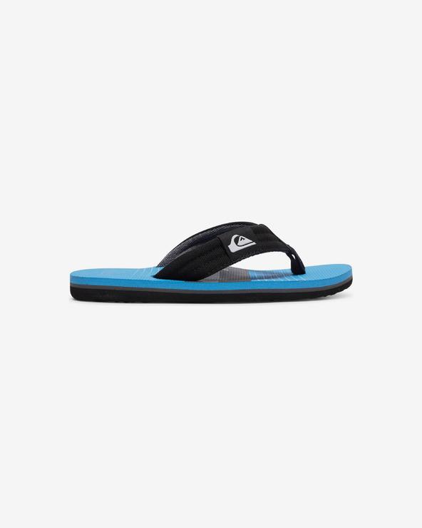 Quiksilver Molokai Layback Flip-Flops Kinder Schwarz Blau