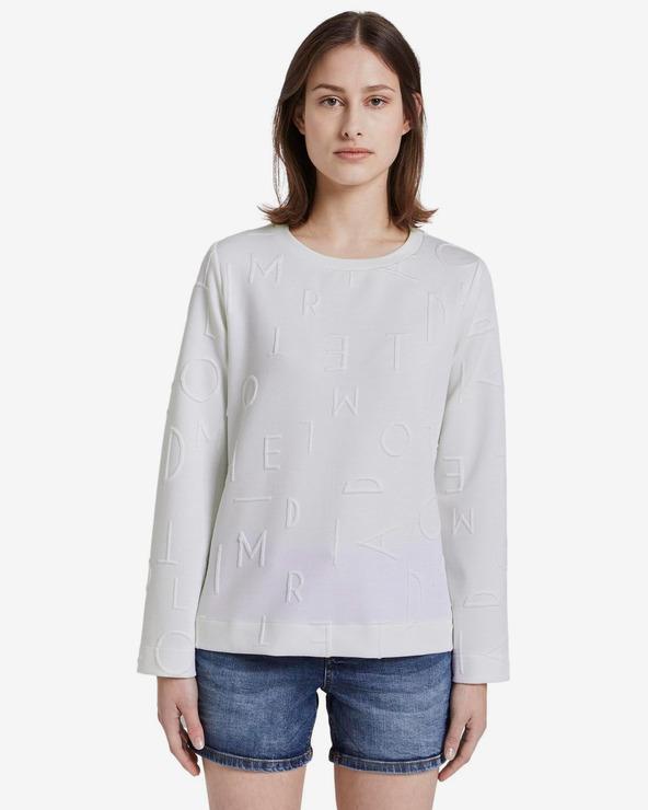 Tom Tailor Denim Pullover Weiß