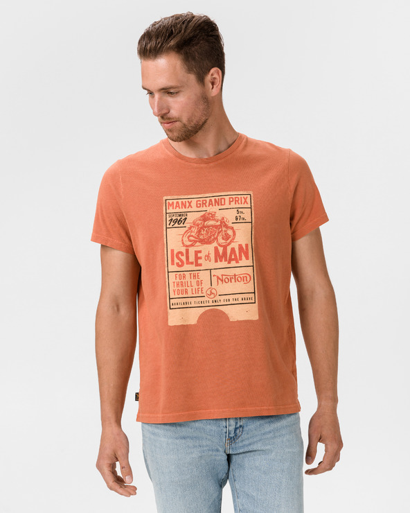 Pepe Jeans Graf T-Shirt Orange