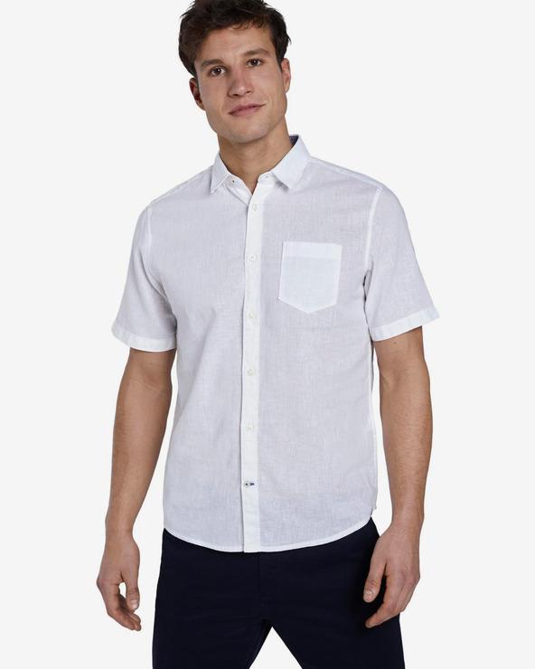 Tom Tailor Hemd Weiß